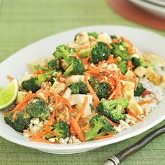 Peanut-Broccoli Stir Fry   22 Easy One-Pot Meals With No Meat