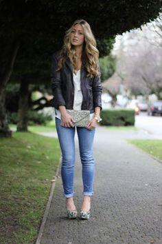 Jen's casual chic look for fall with an Ettika bracelet www.tresjewellery.com #fashion #fbloggers #lbloggers #moda #Ettika