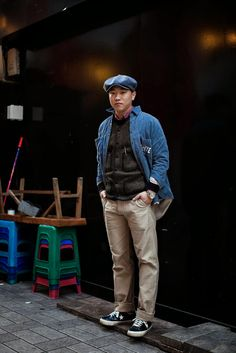 On the street... Jinki Hong Busan ~ echeveau
