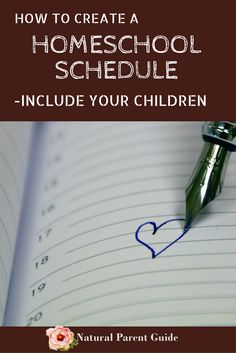How to create a homeschool schedule with your kids | relaxed homeschooling | homeschool organization | homeed | unschool schedule | joyful homeschooling | homeschooling tips