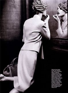 Belle De Nuit | Natalia Vodianova | Friedemann Hauss #photography | Marie Claire Australia March 2001