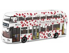 The Corgi 1/76 New Routemaster, London Poppy Day is a superbly detailed diecast model bus in the Original Omnibus collection.