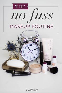 Running late? No problem! A bit of TimeWise® Age-Fighting Moisturizer, Mineral Powder Foundation, Ultimate Mascara™ and a dab of Mary Kay At Play® Lip & Cheek Stick and you're on your way!