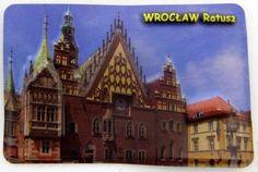 Pamiątkowy Magnes 3D Ratusz Wrocław   Pamiątkowe Magnesy   Upominki24.com