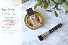 I reviewed Nars' All Day Luminous Weightless foundation on the blog > https://notsoquietgirl.me/2016/09/07/nars-all-day-luminous-weightless-foundation-review/
