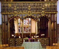 leicester cathedral screen   Leicester Cathedral hosts past and present English monarchs (Includes ...