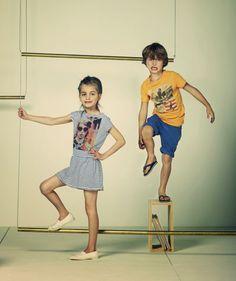 Lookbook American Outfitters enfant printemps été 2014