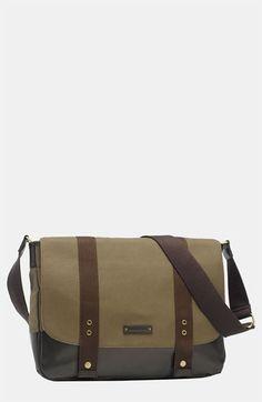 a diaper bag cool enough for dad to carry!  Storksak 'Aubrey' Diaper Bag