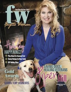 Piper Hill's Healing4Heros helps veterans heal with the help of 4-legged friends.