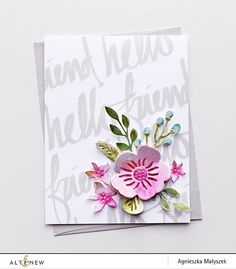 Online Shop 2018 DIY New Layered Metal Cutting Dies and Scrapbooking For Paper Making Flower Embossing Stamps Frame Card Craft Dies Set Penny Black, Embossing Stamp, Scrapbooking Album, Altenew Cards, Stamp Making, Album Photo, Cards For Friends, Card Sketches, Card Tags