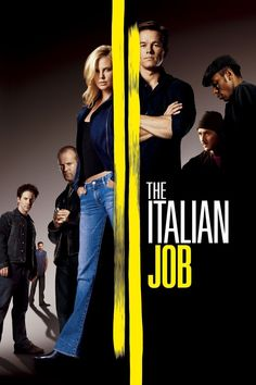 The Italian Job. Awesome movie!