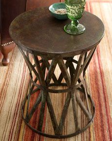 side table in living room or in master bedroom next to side chair