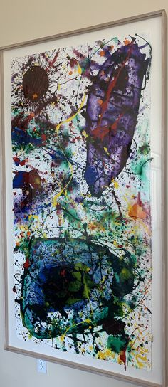 Sam Francis, Paintings, Mood, Artwork, Decor, Work Of Art, Painting Art, Painting, Decorating