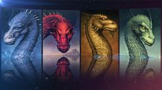 Eragon, Eldest, Brisingr, and Inheritance. The Inheritance Cycle by Christopher Paolini. Definitely my favorite books ever! Just don't watch the movie.