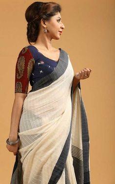 Top best stunning Kalamkari blouse designs for women saree. Buy best designer blouses with Kalamkari saree. Kalamkari fashion work short sleeve blouse designs for saree. Kalamkari Blouse Designs, Kalamkari Saree, Sari Blouse Designs, Saree Blouse Patterns, Kalamkari Blouses, Kalamkari Dresses, Best Blouse Designs, Shirt Patterns, Blouse Back Neck Designs