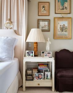 Family Frames - Nightstand Styling Ideas from Pinterest - Photos