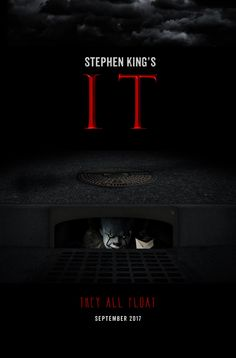 Stephen King's IT 2017 Poster - My Rendition http://ift.tt/2oM9NKL #timBeta