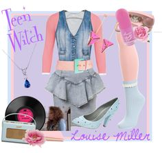 """""""Teen Witch"""" by dandelionapril on Polyvore"""