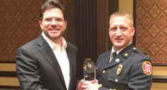 Congratulations to Fire Chief Chad Carey for receiving the 2014 #DETCAccrediting Outstanding Graduate for #CSUedu!