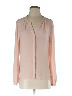 Check it out—Ann Taylor LOFT Long Sleeve Blouse for $19.99 at thredUP!