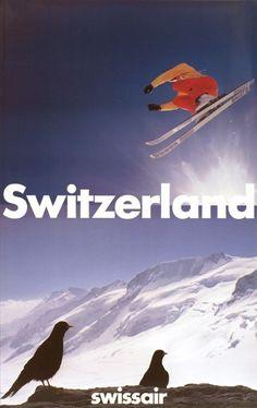 Switzerland, Swissair