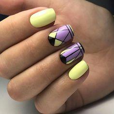 Best Nail Art - 22 Nail Designs That Are Fabulous - Best Nail Art Creative Nail Designs, Short Nail Designs, Creative Nails, Nail Art Designs, Nails Design, Cute Nails, Pretty Nails, My Nails, Nail Drawing
