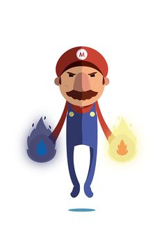 The Super Mario on Behance
