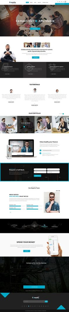 Consulta World is the Perfect #PSD #template for corporate website like #Financial Advisor, Accountant, Consulting Firms etc with 11+ stunning homepage layouts download now➯ https://themeforest.net/item/consulta-multipurpose-business-financial-psd-template-/16828542?ref=Datasata