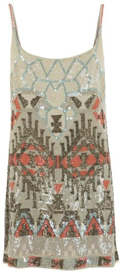 All Saints Aztec dress - this is perfect