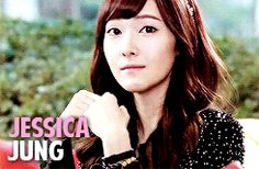 Jessica mygif snsd jessica jung girls' generation jung sooyeon snsd jessica sicabrows