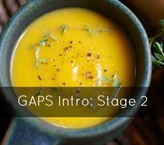 GAPS Intro Diet Stage 2, Butternut soup #gapsdiet #gapsclass #butternutsoup www.gapsclass.com