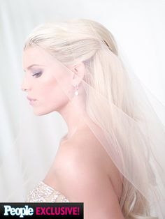 Jessica Simpson's First Official Wedding Photo