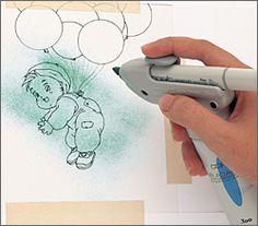 Airbrushing tutorial