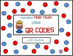 Updated 10/11/15 Your students will love scanning and listening to some of their favorite fairy tales! This is one of our best sellers! ***Find this product in our best buy bundle, (click here to view) ~Pre K/Kindergarten~MEGA BUNDLE using QR