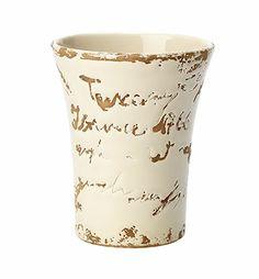 VIETRI - Tuscany Script Small Vase