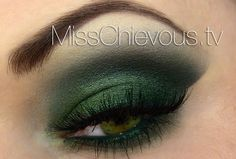 Olive green makeup Tutorial