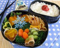 Kamado Roasted ChickenBento Box. Hawaiian style and links for where to buy on Hawaii