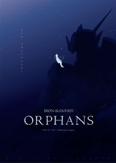 Mobile Suit Gundam: Iron-Blooded Orphans Minimal Poster Design