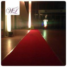 """""""Roter Teppich"""" Einlassstimmung wie beim Oscar..."""