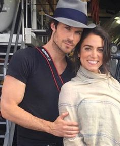 They are so freaking perfect together! And so cute! Best of luck in the future Ian and Nikki!