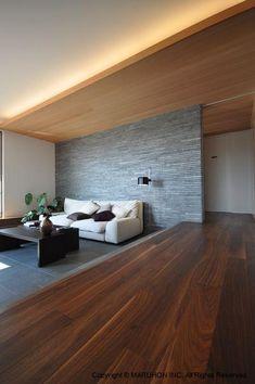 Bedroom Bed Design, Home Room Design, Living Room Designs, House Design, Simple Interior, Interior Design, My House Plans, Style Japonais, Japanese Interior