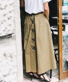 details summer skirt