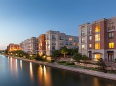 Overlooking Lake Carolyn, apartments have stunning views of the water!