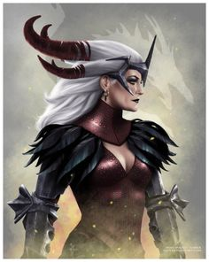 Flemeth -- Dragon Age II. She has to be one of my fave characters. So mysterious with her hands in everyone's cookie jars.