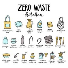 5 Easy and Practical Tips To Create A Fuss-Free Zero Waste K.- 5 Easy and Practical Tips To Create A Fuss-Free Zero Waste Kitchen 5 Simple Tips To Create A Hassle-Free Zero Waste Kitchen - Kitchen Waste, Reduce Reuse Recycle, How To Recycle, Reduce Waste, Green Life, Go Green, Sustainable Living, Sustainable Ideas, Sustainable Products