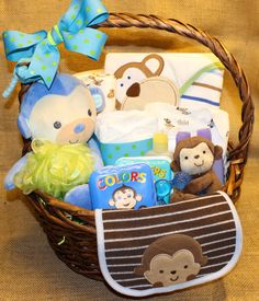 Premium little big guy baby boy gift basket ready to ship lion hey i found this really awesome etsy listing at https baby boy gift basketsbaby negle Image collections