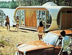 Futuristic Mobile Housing