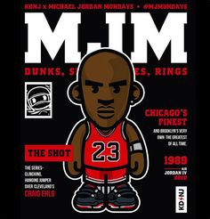Michael Jordan 'MJMondays' Art