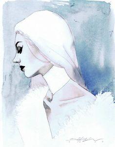"comic-book-ladies: "" Emma Frost by Jeff Dekal "" Marvel"