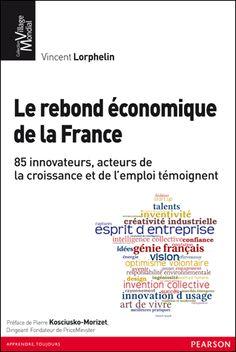 Le rebond économique de la France, Pearson, 2012 France, Coaching, Optimism, Livres, Training, French